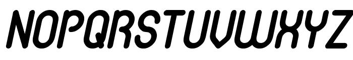 gitchgitch Italic Font UPPERCASE