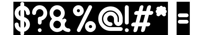 gitchgitch-inverse Font OTHER CHARS