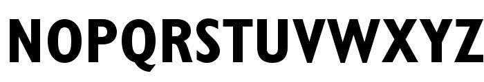 GillSansStd-BoldCondensed Font UPPERCASE