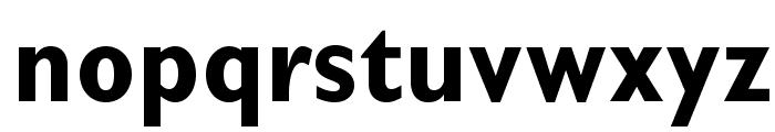 GillSansStd-BoldCondensed Font LOWERCASE
