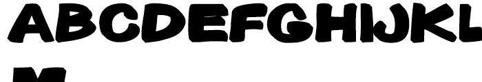 Gibon Bold 3D Bottom Font LOWERCASE