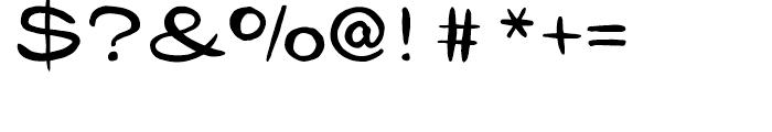 Gibon Lettering Font OTHER CHARS
