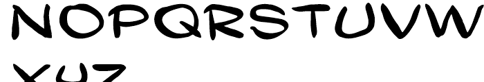 Gibon Lettering Font UPPERCASE