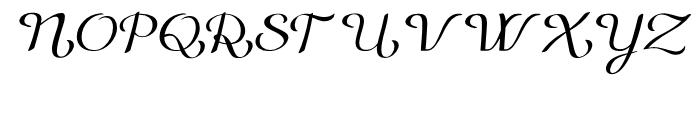 Gilda Light Italic Font UPPERCASE