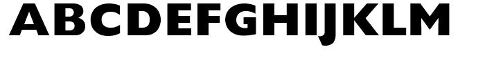 Gill Sans ExtraBold Font UPPERCASE
