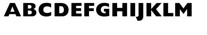 Gill Sans Hellenic Extra Bold Font UPPERCASE