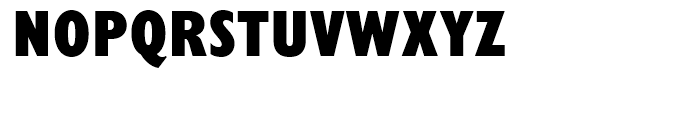 Gill Sans Nova Condensed Extra Bold Font