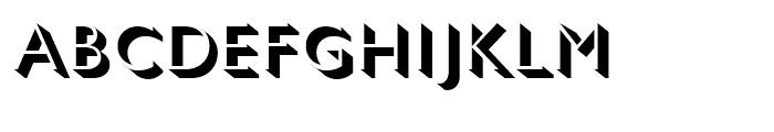 Gill Sans Nova Shadowed Light Font UPPERCASE