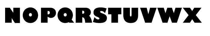 Gill Sans Nova Ultra Bold Font UPPERCASE