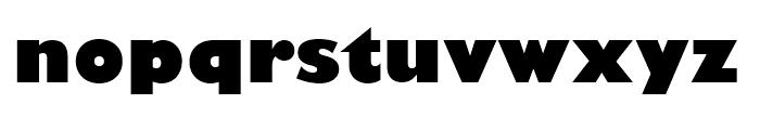 Gill Sans Nova Ultra Bold Font LOWERCASE