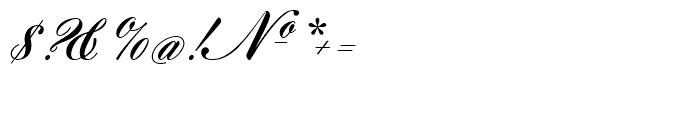 Gillray Medium Font OTHER CHARS