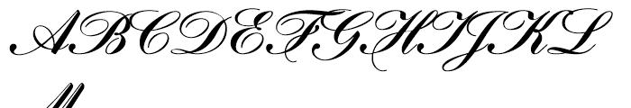 Gillray Medium Font UPPERCASE