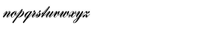 Gillray Medium Font LOWERCASE