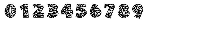 Giraffe Skin Zim Regular Font OTHER CHARS