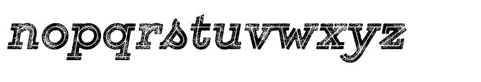 Gist Rough Black Two Font LOWERCASE
