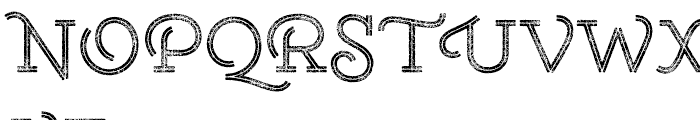 Gist Rough Upright Reg Two Font UPPERCASE