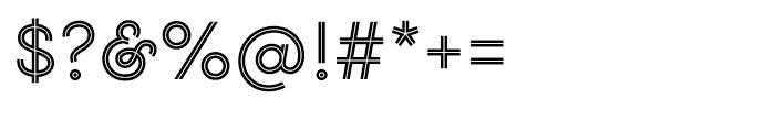 Gist Upright Regular Font OTHER CHARS