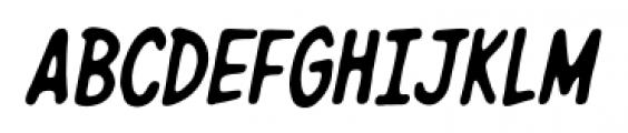 Giant Sized Spectacular Caps BB Italic Font UPPERCASE