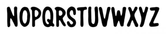 Giant Sized Spectacular Caps BB Regular Font UPPERCASE