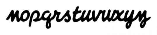 Giant Sized Spectacular Script BB Italic Font LOWERCASE