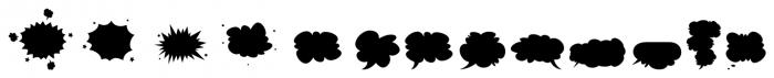 Gibon Balloons Font UPPERCASE