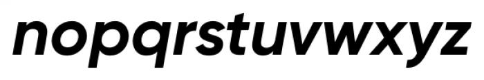 Gilroy Bold Italic Font LOWERCASE