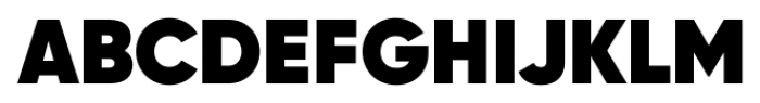 Gilroy Heavy Font UPPERCASE