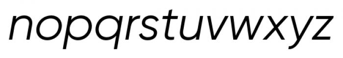 Gilroy Italic Font LOWERCASE