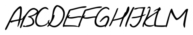 Giorgio Handwriting Regular Font UPPERCASE