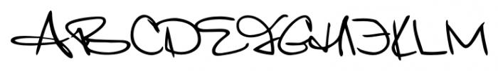 Giovanna Handwriting Regular Font UPPERCASE