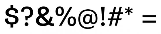 Gira Sans Regular Font OTHER CHARS