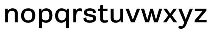 Gira Sans Regular Font LOWERCASE