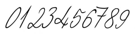 Giuliano Handwriting Regular Font OTHER CHARS
