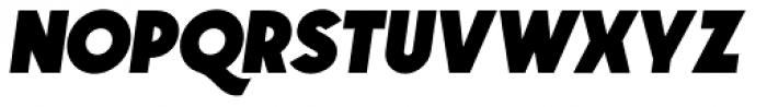 GIT Italic Font UPPERCASE