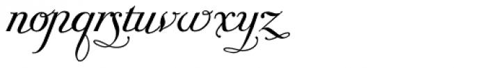 Giambattista Three Script Font LOWERCASE