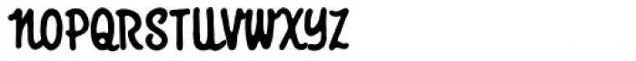 Giant Sized Spectacular Script BB Font UPPERCASE
