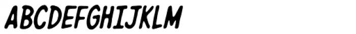 Giant Sized Spectacular Std BB Italic Font UPPERCASE