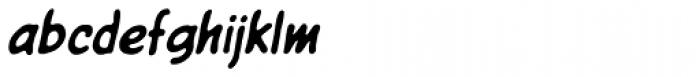 Giant Sized Spectacular Std BB Italic Font LOWERCASE