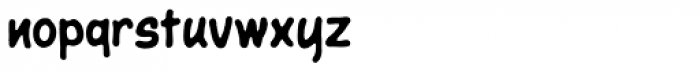 Giant Sized Spectacular Std BB Font LOWERCASE
