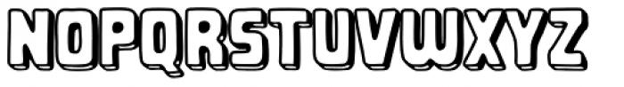 Gibbons Gazette Open Font LOWERCASE