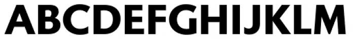 Gibbs Black Font UPPERCASE
