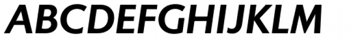 Gibbs Bold Italic Font UPPERCASE