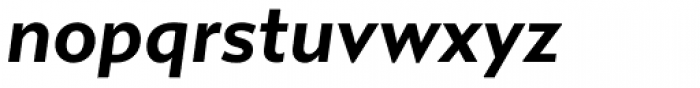 Gibbs Bold Italic Font LOWERCASE