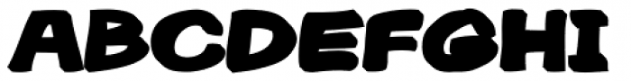 Gibon Bold 3D Bottom Font UPPERCASE