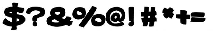 Gibon Bold Bottom Font OTHER CHARS