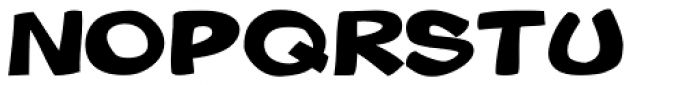 Gibon Bold Bottom Font UPPERCASE