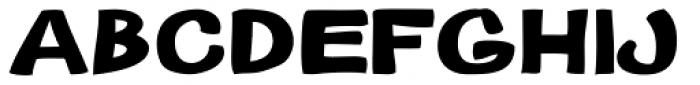Gibon Bold Bottom Font LOWERCASE