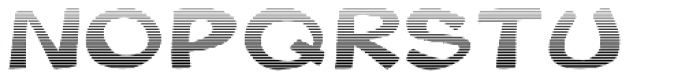 Gibon Bold Fill Gradient Font UPPERCASE