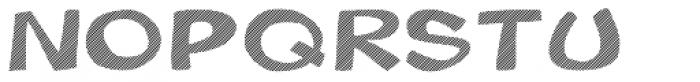 Gibon Bold Fill Striped 1 Font UPPERCASE