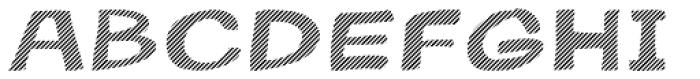 Gibon Bold Fill Striped 2 Font UPPERCASE